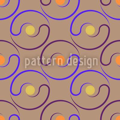 Centre Of Yin Yang Repeat Pattern