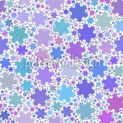 Fractal Snowflakes Pattern Design