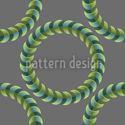Herr Der Spiralringe Vektor Muster