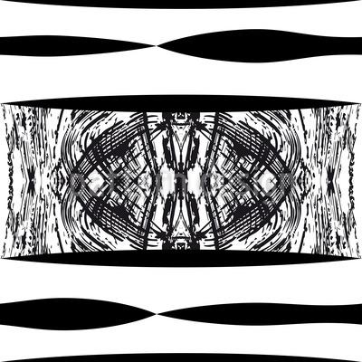 Zebra Stripes In Africa Repeating Pattern