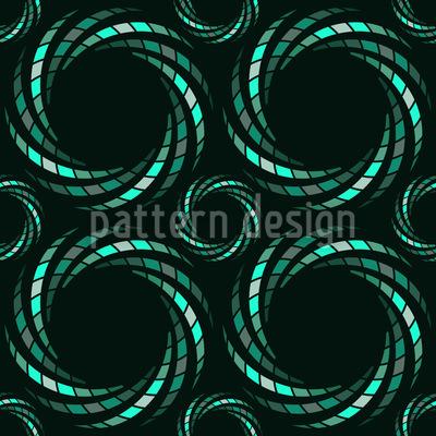 Spiralmosaik Musterdesign