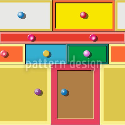 Schubladendenken Multicolor Vektor Design