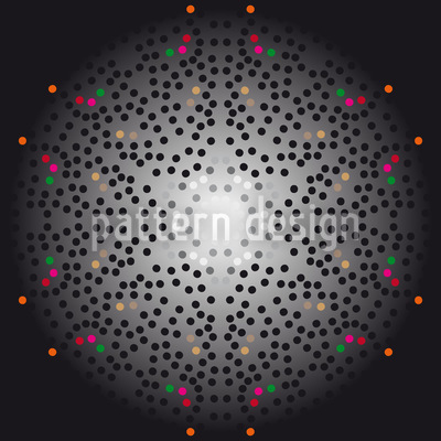 Big Bang Dotty Rapportiertes Design
