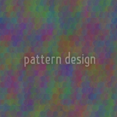 Undines Colorful Scaly Dress Pattern Design