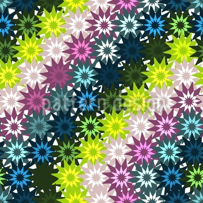 Sternenbasteln Echt Spitze Vektor Muster