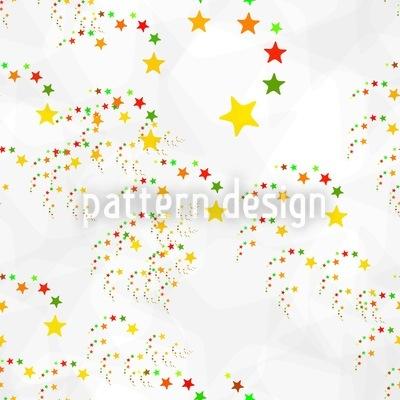 Comet Fireworks Vector Design