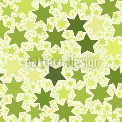 Stella Natura Seamless Vector Pattern Design