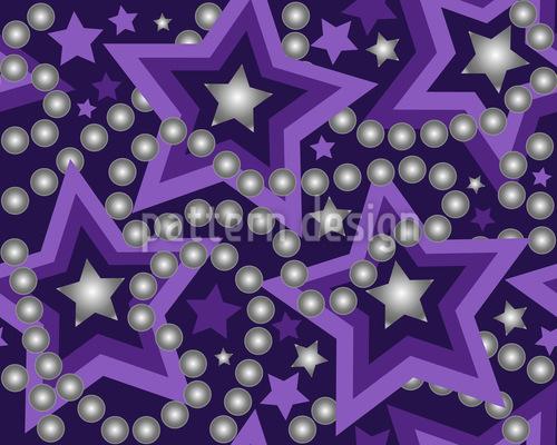 Perla Stellar Repeat Pattern