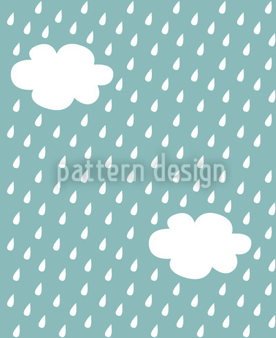 It's Raining Seamless Vector Pattern