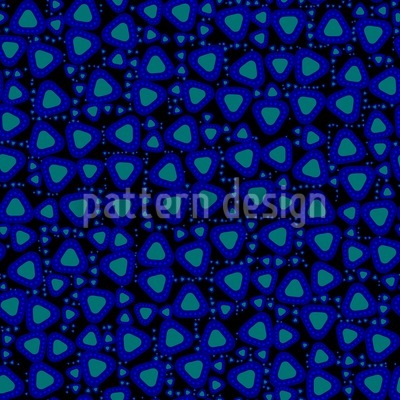 Triangles Light The Way Home Seamless Pattern