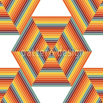 Nuclear Hexagon Pattern Design