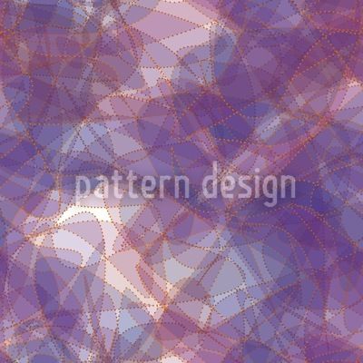 Golden Chain On Violet Silk Seamless Vector Pattern Design