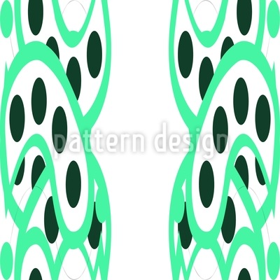 Green Alleys Pattern Design