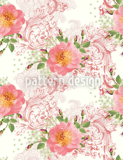 Epochal Roses Pattern Design