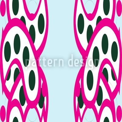 Pinke Alleen Designmuster