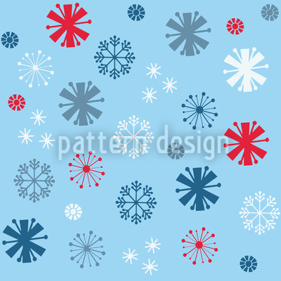 Snowflake Blues Vector Design