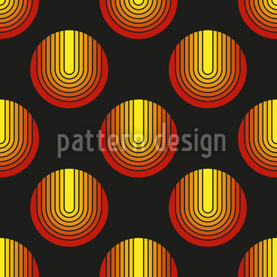 Sarastros Circles Seamless Vector Pattern Design