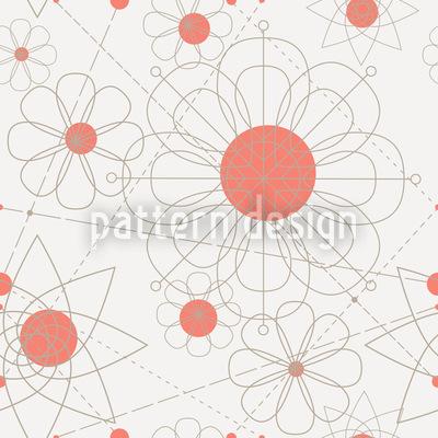 Konstruktion Floral Vektor Design