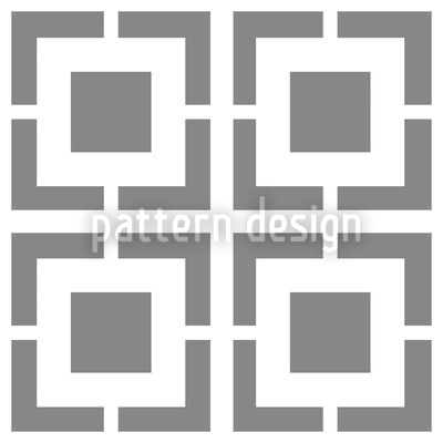 Monochrome Lattice Vector Pattern