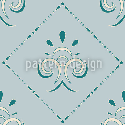 Gentle Carolina Seamless Vector Pattern