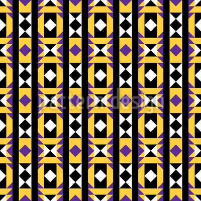 Geometrie Latin Nahtloses Vektormuster