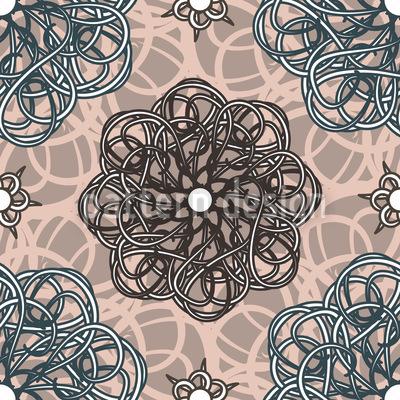 Blumen Aus Fantasia Vektor Design