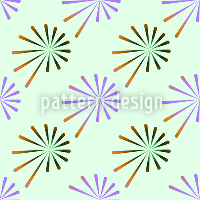 Lauch Fantasie Nahtloses Muster