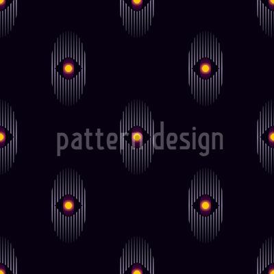 Das Kosmische Auge Rapportiertes Design