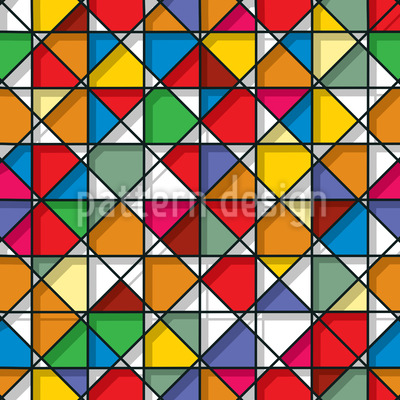 Stained Glass Design Pattern