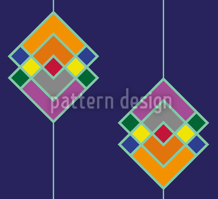 Art Deco Color Repeat Pattern