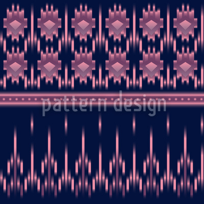 Latin Ikat Pattern Design