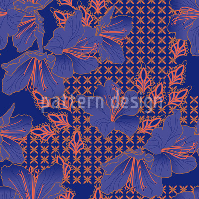 Oriental Blossoms Imperial Vector Design
