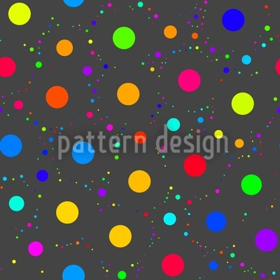 Space Baby Bubble Seamless Vector Pattern Design