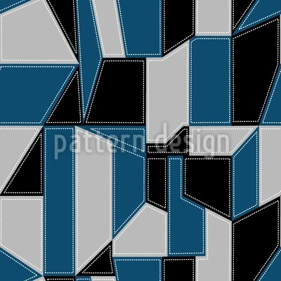 Geometry Reloaded Seamless Vector Pattern Design