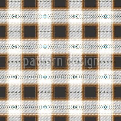 Quadrat Im Web Nahtloses Muster