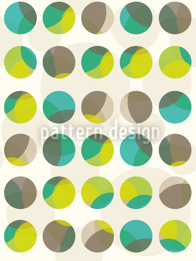 Marbles In Spring Seamless Vector Pattern Design