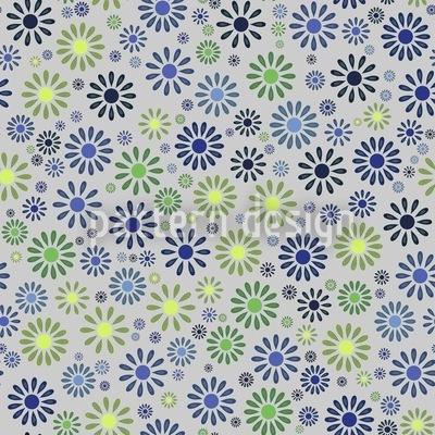 Blumen Explosion Nahtloses Muster