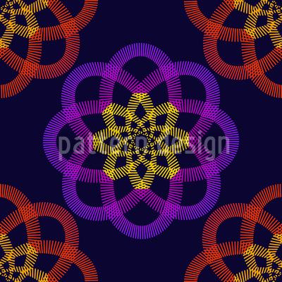 Atomas Seamless Vector Pattern