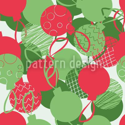 Weihnachtskugeln Muster Design