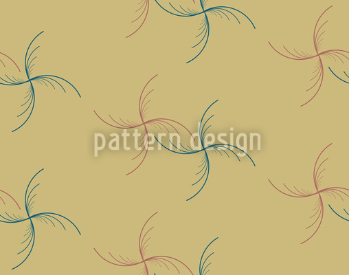 Dancing Stars Vector Pattern