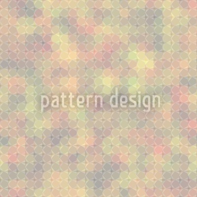 Glass Window Indian Summer Seamless Vector Pattern Design
