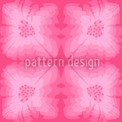 Pinky Florale Repeat Pattern