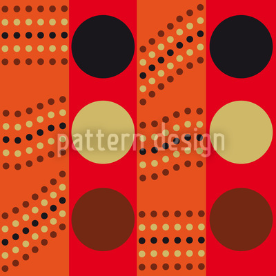 Outback Traffic Light Seamless Vector Pattern Design