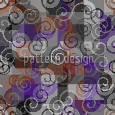 Kleine Wellen Vektor Muster