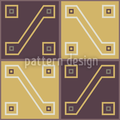 Inca Treasure Seamless Vector Pattern Design