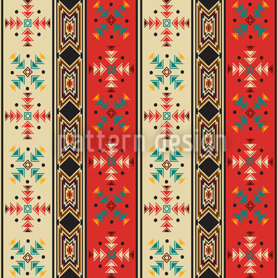Navajo Style Rapportiertes Design