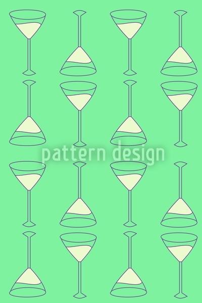 Martini Grün Musterdesign