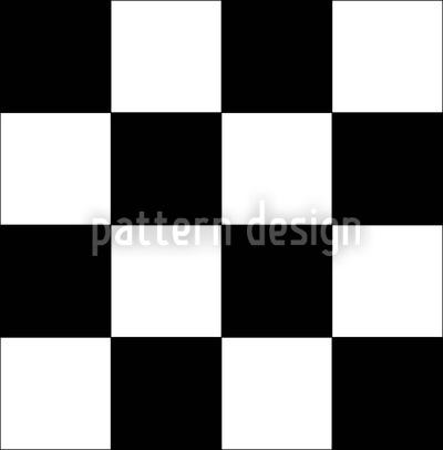 Schachmatt Nahtloses Vektormuster