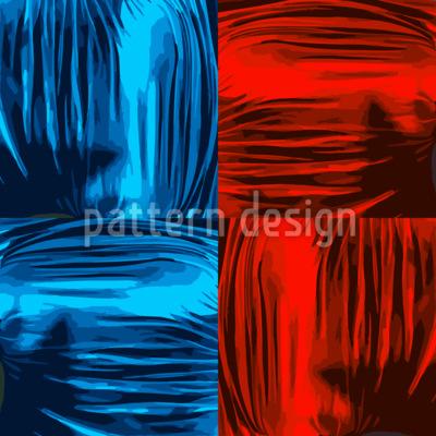 Glanz Und Glamour Nahtloses Vektor Muster