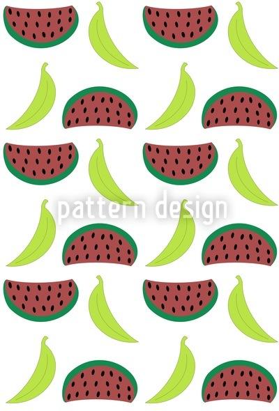 Bella Banana Meets Manni Melon Tomorrow Vector Design